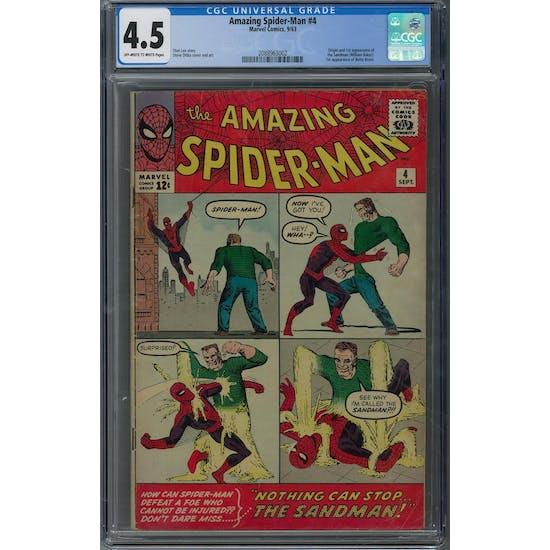 Amazing Spider-Man #4 CGC 4.5 (OW-W) *2088963002*