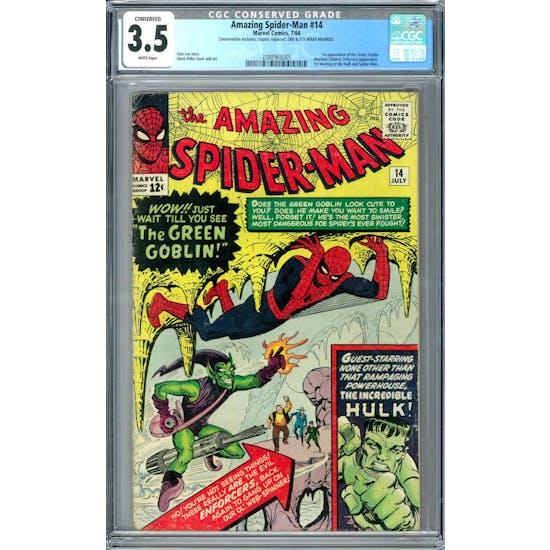 Amazing Spider-Man #14 CGC 3.5 Conserved (W) *2088965005*