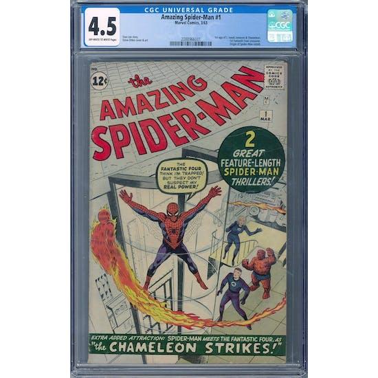 Amazing Spider-Man #1 CGC 4.5 (OW-W) *2088966001*
