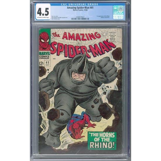 Amazing Spider-Man #41 CGC 4.5 (OW-W) *2088979007*