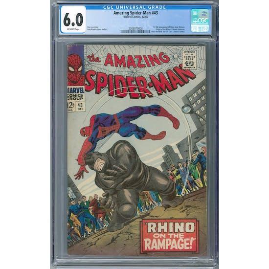 Amazing Spider-Man #43 CGC 6.0 (OW) *2088979008*