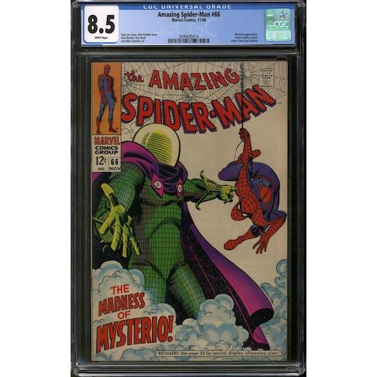 Amazing Spider-Man #66 CGC 8.5 (OW-W) *2090695014*