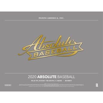 2020 Panini Absolute Baseball Hobby Box (Presell)