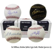 2020 Hit Parade Autographed Baseball Hobby Box - Series 8 - Ted Williams, Acuna Jr., Soto & Yelich!!!