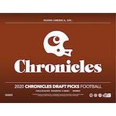 2020 Panini Chronicles Draft Picks Football Hobby 16-Box Case (Presell)
