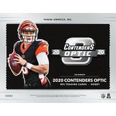 2020 Panini Contenders Optic Football Hobby Box (Presell)