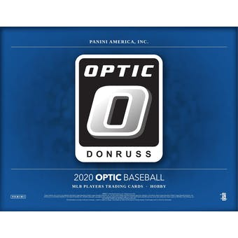 2020 Panini Donruss Optic Baseball Hobby Box (Presell)