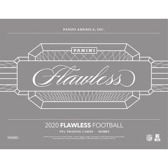 2020 Panini Flawless Football Hobby 2-Box Case- DACW Live 32 Spot Random Team Break #2