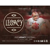 2020 Panini Legacy Football 4-Box- DACW Live 8 Spot Random Division Break #1