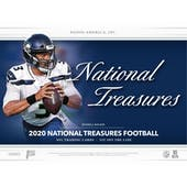 2020 Panini National Treasures Football FOTL FIVE 4-Box Cases- DACW Live 32 Spot Random Team VIP SUPER BREAK 1