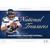 2020 Panini National Treasures Football 1-Box - DACW Live 32 Spot Random Team Break #4
