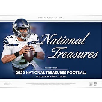 2020 Panini National Treasures Football 1-Box - DACW Live 8 Spot Random Division Break #1