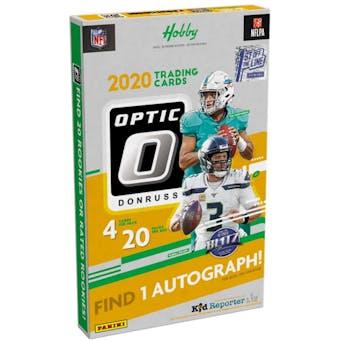 2020 Panini Donruss Optic Football Hobby 1st Off The Line FOTL Box
