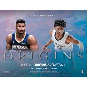 2020/21 Panini Origins Basketball 4-Box- DACW Live 6 Spot Random Division Break #1