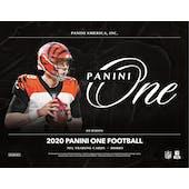 2020 Panini One Football Hobby Box (Presell)