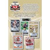 2020 Leaf Valiant Football Hobby 6-Box Case (Presell)