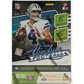 2020 Panini Absolute Football 8-Pack Blaster Box