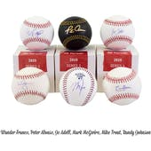 2020 Hit Parade Autographed Baseball 1-Box Ser 3- DACW Live 6 Spot Random Division Break #4