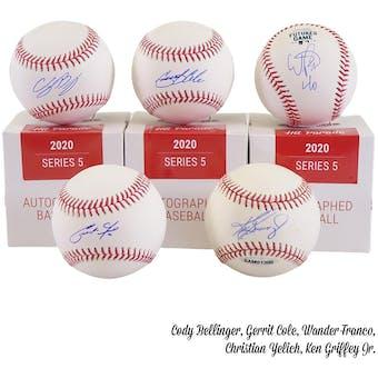 2020 Hit Parade Autographed Baseball Hobby Box - Series 5 - Soto, Judge, Bellinger, Griffey Jr. & Rivera!!!