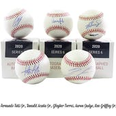 2020 Hit Parade Autographed Baseball Hobby Box - Series 6 - Acuna Jr., Judge, Griffey Jr., & Tatis Jr.!!!