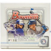 2020 Bowman Baseball Retail 24-Pack Box