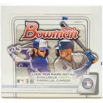 2020 Bowman Baseball Retail 24-Pack Box