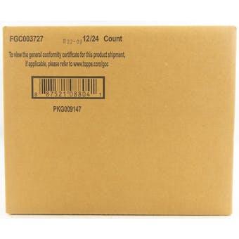 2020 Bowman Baseball Hobby 12-Box Case