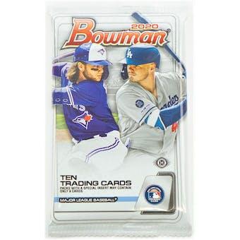 2020 Bowman Baseball Hobby Pack