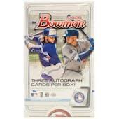 2020 Bowman Baseball Hobby Jumbo 3-Box- DACW Live 26 Spot Random Team Break #4