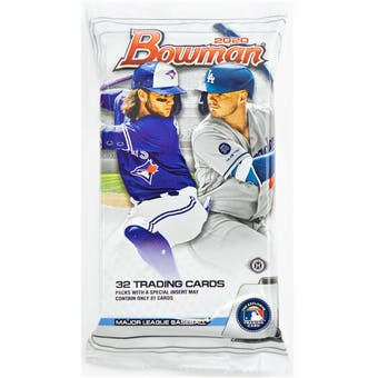 2020 Bowman Baseball Hobby Jumbo Pack