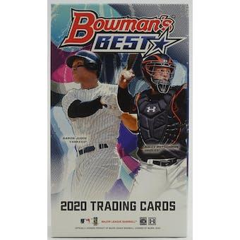 2020 Bowman's Best Baseball Hobby Mini-Box