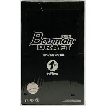 2020 Bowman Draft 1st Edition Baseball Hobby Box