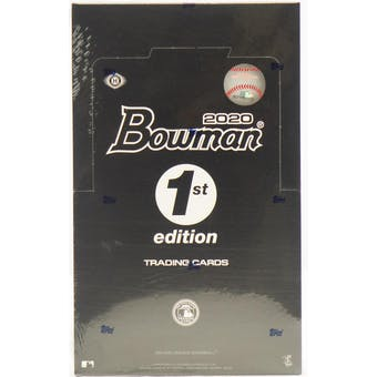 2020 Bowman 1st Edition Baseball 24-Pack Box