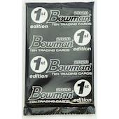 2020 Bowman 1st Edition Baseball Pack