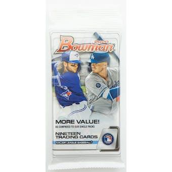 2020 Bowman Baseball Jumbo Value Pack (19 Cards)
