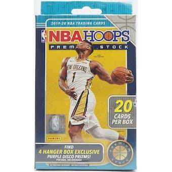 2019/20 Panini Hoops Premium Stock Basketball Hanger Box (Lot of 2)