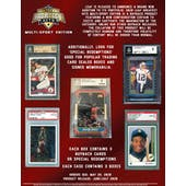 2020 Leaf Greatest Hits Multi-Sport Hobby 3-Box Case (Presell)