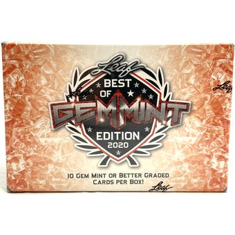 2020 Leaf Best Of Gem Mint Hobby Box