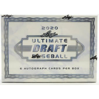 2020 Leaf Ultimate Draft Baseball Hobby Box