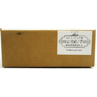 2020 Leaf Ultimate Draft Baseball Hobby 12-Box Case