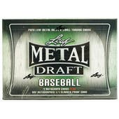 2020 Leaf Metal Draft Baseball Hobby Jumbo Box