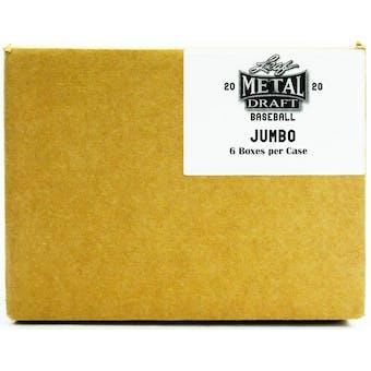 2020 Leaf Metal Draft Baseball Hobby Jumbo 6-Box Case