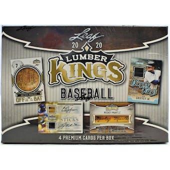 2020 Leaf Lumber Kings Baseball Hobby Box
