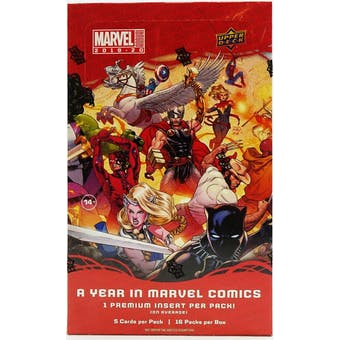 Marvel Annual Hobby Box (Upper Deck 2019/20)