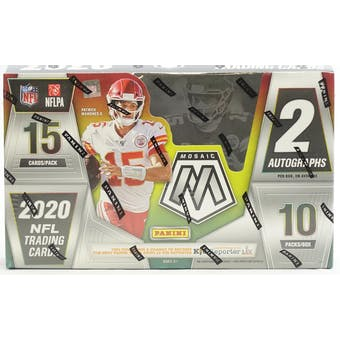 2020 Panini Mosaic Hobby Football 3-Box- DACW Live 32 Spot Random Team Break #1
