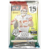 2020 Panini Mosaic Football Hobby Pack