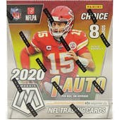 2020 Panini Mosaic Choice Football Hobby Box