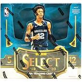 2019/20 Panini Select 1st Off The Line Basketball Hobby Box