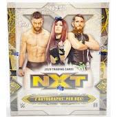 2020 Topps WWE NXT Wrestling Hobby Box (Lot of 4)