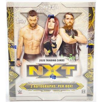 2020 Topps WWE NXT Wrestling Hobby Box